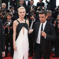 Carey Mulligan y Oscar Isaac en el estreno de 'Inside Llewyn Davis' en Cannes 2013