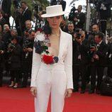 Olga Sorokina en el estreno de 'Inside Llewyn Davis' en Cannes 2013