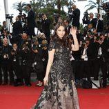Aishwarya Rai en el estreno de 'Inside Llewyn Davis' en Cannes 2013