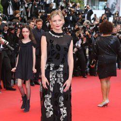 Kirsten Dunst en el estreno de 'Inside Llewyn Davis' en Cannes 2013