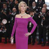 Jane Fonda en el estreno de 'Inside Llewyn Davis' en Cannes 2013