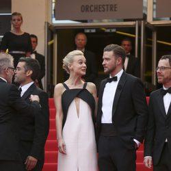 Carey Mulligan y Justin Timberlake en el estreno de 'Inside Llewyn Davis' en Cannes 2013