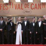 El equipo de 'Inside Llewyn Davis' en el estreno de la película en Cannes 2013