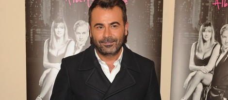 Jorge Javier Vázquez en el estreno de '¿Hacemos un trío?'