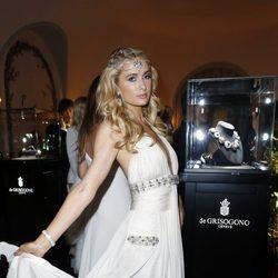 Paris Hilton en la fiesta Grisogono de Cannes 2013