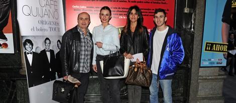 Pepe Viyuela, Miren Ibarguren, Melani Olivares y David Castillo en el espectáculo '¡Martínez... que no eres bueno!'