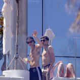 Harry Styles en el hotel Wella de Barcelona
