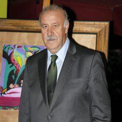 Vicente del Bosque apadrina una exposición de la Fundación Síndrome de Down