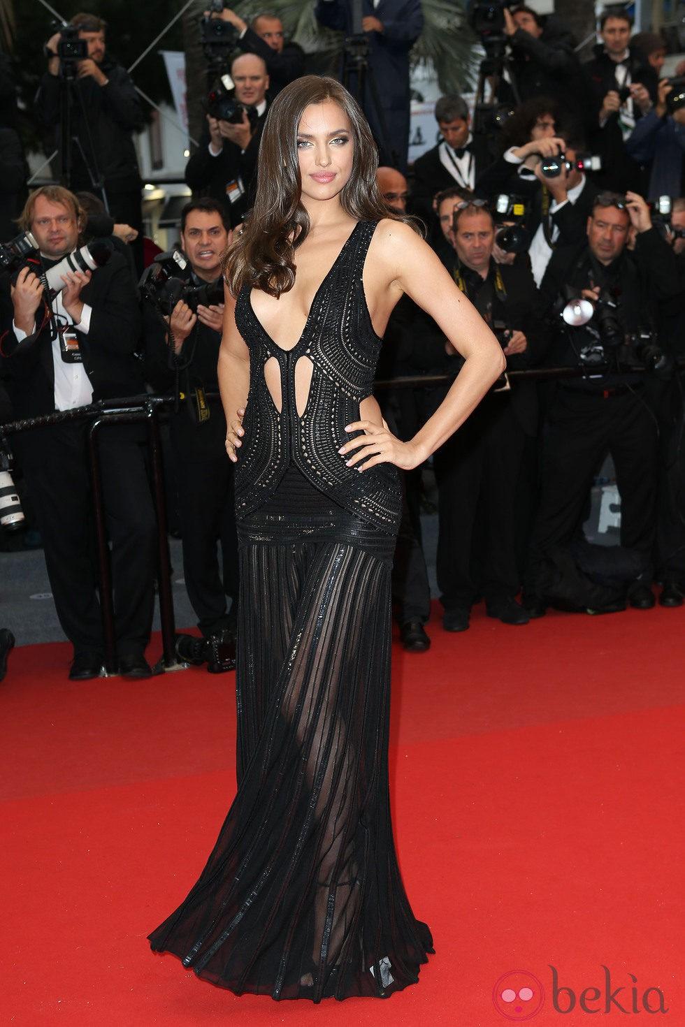 Irina Shayk en el estreno de 'All is Lost' en el Festival de Cannes 2013