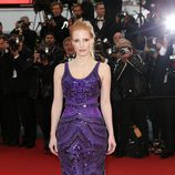Jessica Chastain en el estreno de 'All is Lost' en el Festival de Cannes 2013