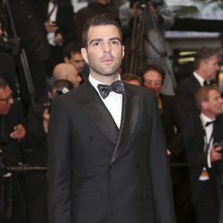 Zachary Quinto en el estreno de 'All is Lost' en el Festival de Cannes 2013