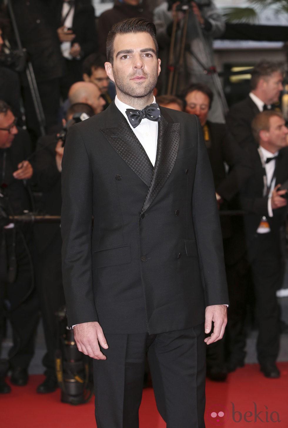 Zachary Quinto en el estreno de 'All is Lost' en el Festival de Cannes 2013