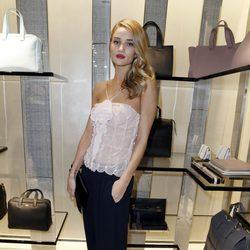 Rosie Huntington-Whiteley en la apertura de una boutique de Armani en Cannes