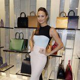 Stacy Keibler en la apertura de una boutique de Armani en Cannes