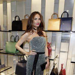 Eugenia Silva en la apertura de una boutique de Armani en Cannes