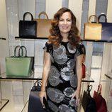 Roberta Armani en la apertura de una boutique de Armani en Cannes