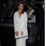 Uma Thurman en la fiesta en el yate de Roberto Cavalli en Cannes