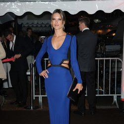 Alessandra Ambrosio en la fiesta en el yate de Roberto Cavalli en Cannes