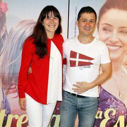 Anna Allén y Secun de la Rosa en el estreno de 'La estrella'