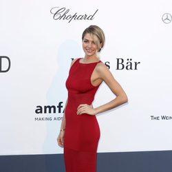 Jessica Hart en la gala amfAR del Festival de Cannes 2013