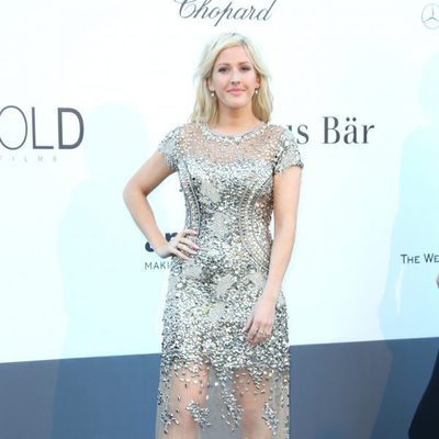 Ellie Goulding en la gala amfAR del Festival de Cannes 2013