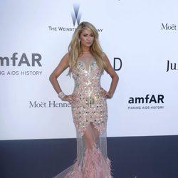 Paris Hilton en la gala amfAR del Festival de Cannes 2013