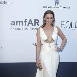 Kylie Minogue en la gala amfAR del Festival de Cannes 2013
