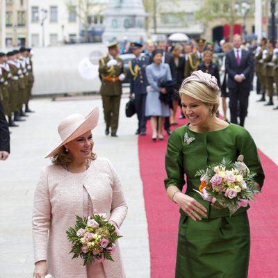 María Teresa de Luxemburgo y Máxima de Holanda en el Gran Ducado