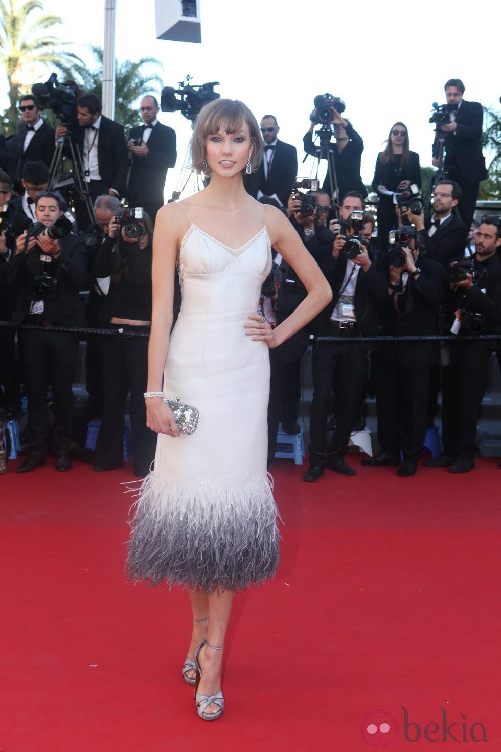 Karlie Kloss en la presentación de 'The immigrant' en Cannes 2013