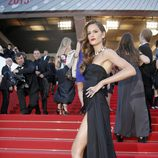 Izabel Goulart en la presentación de 'The immigrant' en Cannes 2013