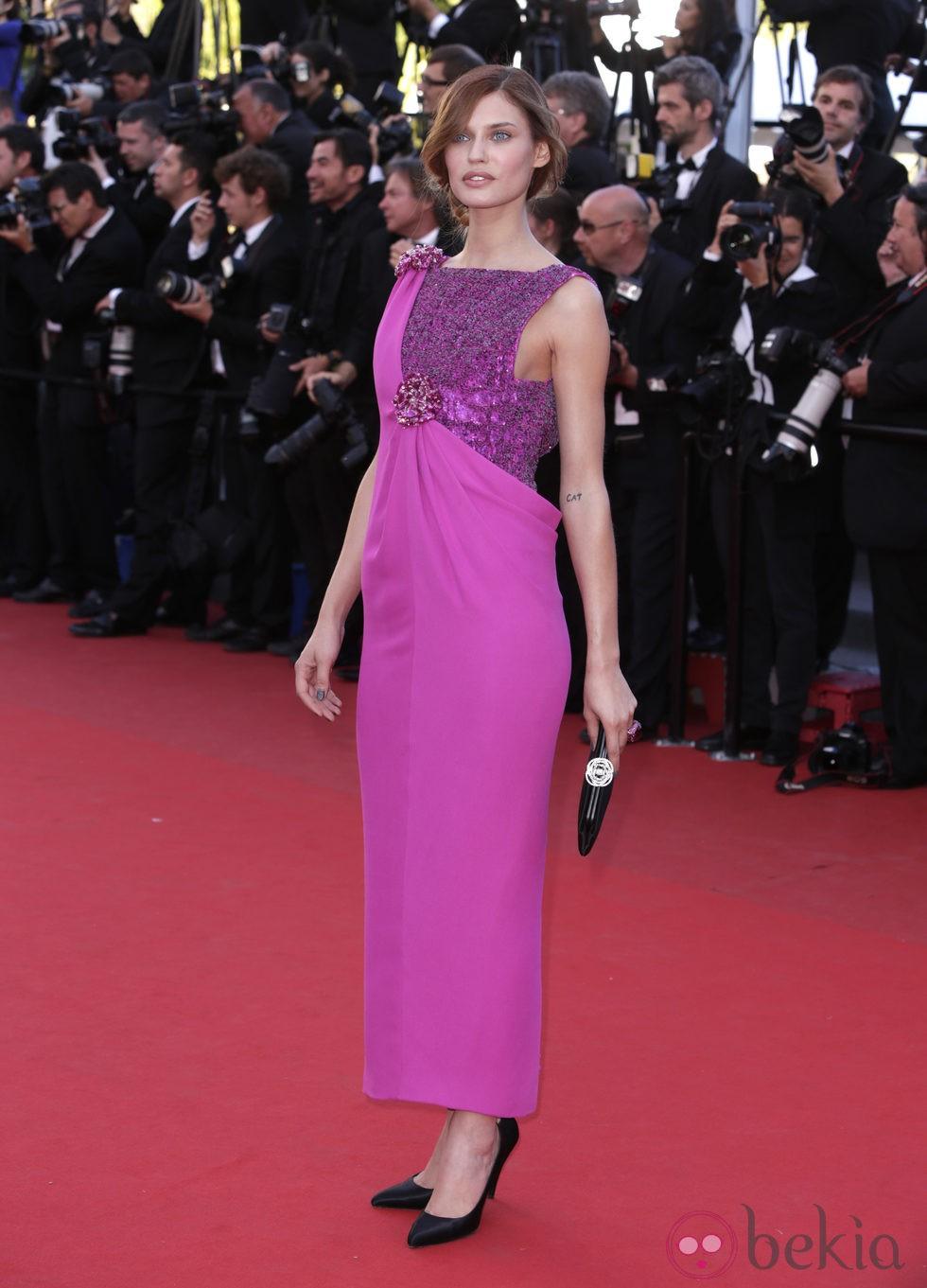 Bianca Balti en la presentación de 'The immigrant' en Cannes 2013