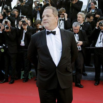 Harvey Weinstein en la presentación de 'The immigrant' en Cannes 2013