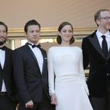 El equipo de la película de 'The immigrant' en la presentación en Cannes 2013