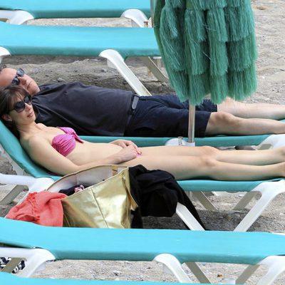 David y Samantha Cameron tomando el sol en las playas de Ibiza