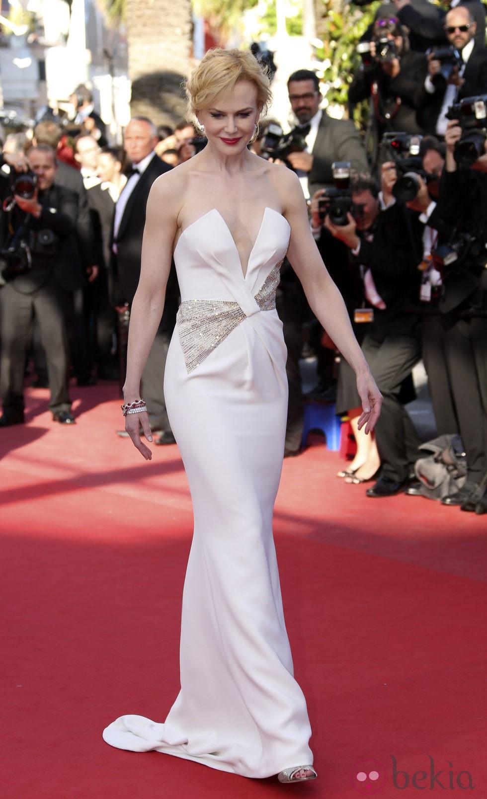 Nicole Kidman en la ceremonia de clausura de Cannes 2013