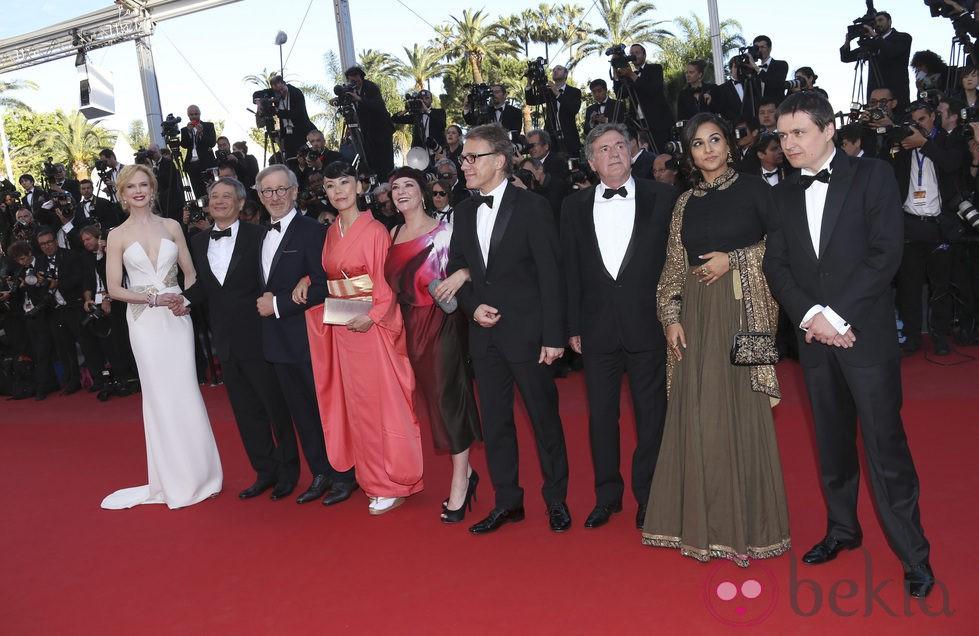 El jurado de Cannes 2013 en la ceremonia de clausura