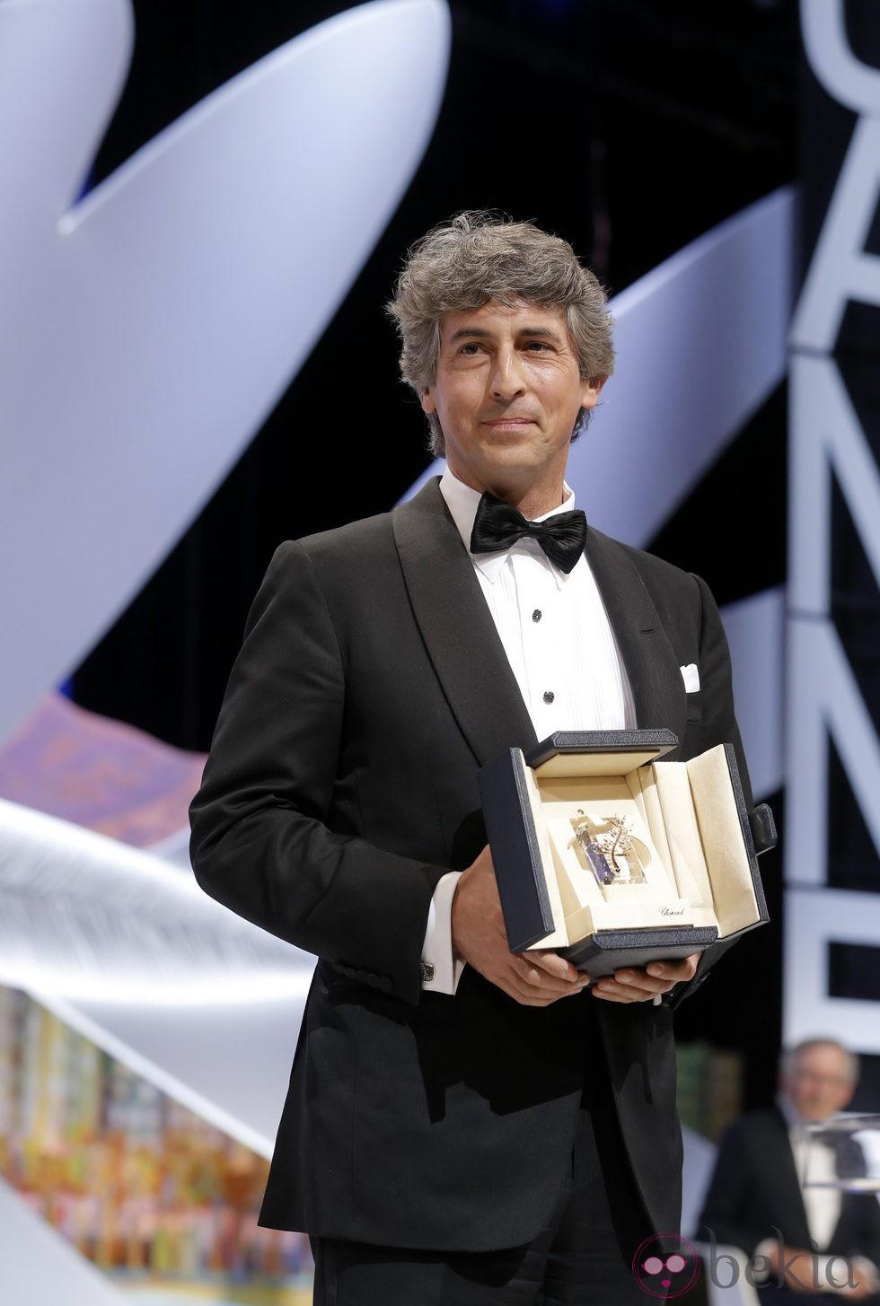 Alexander Payne en la ceremonia de clausura de Cannes 2013