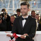 Oscar Isaac en la ceremonia de clausura de Cannes 2013