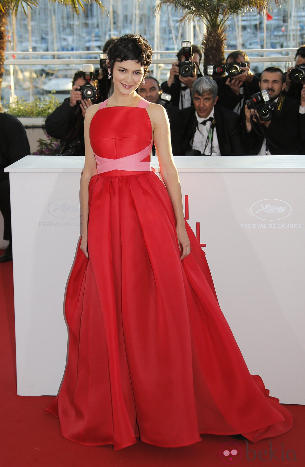 Audrey Tautou en la ceremonia de clausura de Cannes 2013