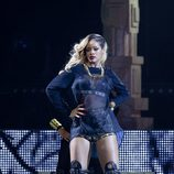 Rihanna en su concierto en Bilbao dentro de su gira 'Diamonds World Tour'