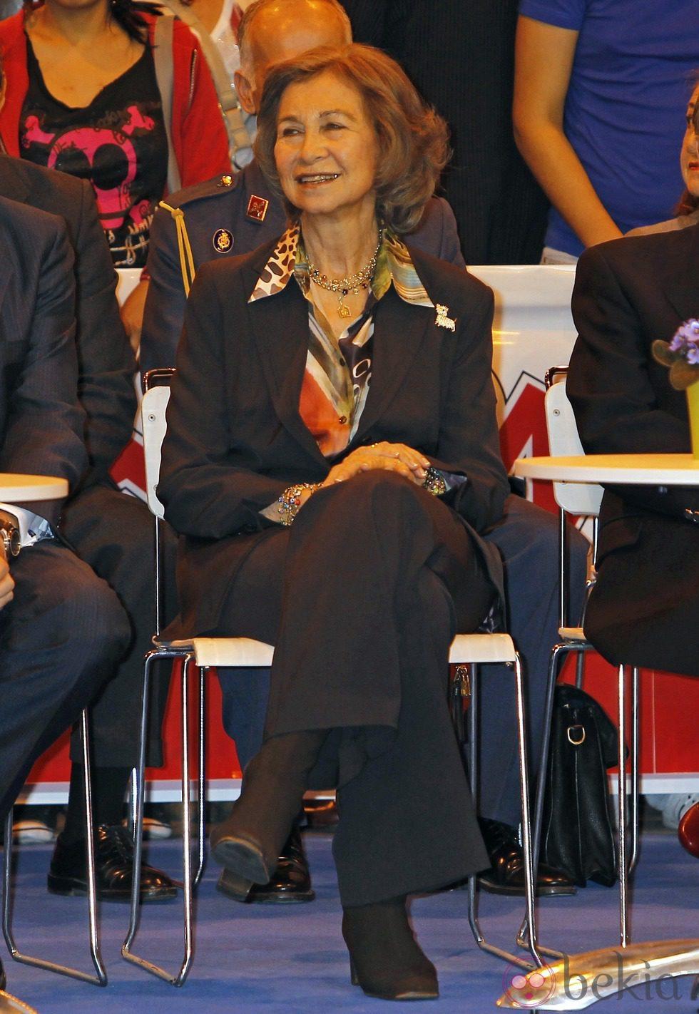 La Reina Sofía en la Exposición Internacional Canina de Primavera