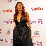 Jacqueline de la Vega en la entrega de los Premios Nos 1 de Cadena 100