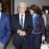 Mario Vargas Llosa en la presentación del libro 'Enrique Ponce, un torero para la historia'
