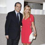 Ramón García y Patricia Cerezo en la presentación del libro 'Enrique Ponce, un torero para la historia'