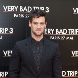 Justin Bartha en el estreno de 'R3sacón' en París
