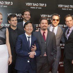 El equipo de 'R3sacón' en el estreno de la película en París