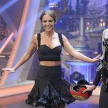Paula Echevarría bailando en 'El Hormiguero'