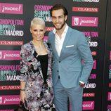 Soraya y Miguel Herrera en la Cosmopolitan Shopping Week