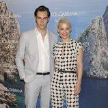 Soraya y Miguel Herrera en el Mediterranean Summer Cocktail de Dolce & Gabbana