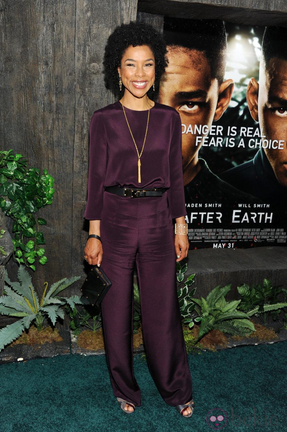 Sophie Okonedo en el estreno de 'After Earth' en Nueva York